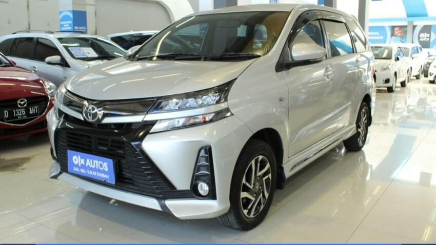 [ OLXAutos ] Toyota Avanza  1.5 Veloz bensin A/T 2019 Silver